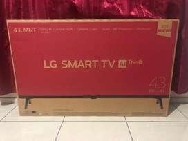"LG SMART TV AI THINQ 43"" NUEVO"