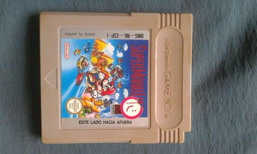 Juego Game Boy _ Mario Antiguo. 0