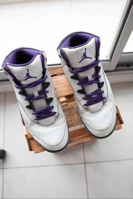 Vendo zapatillas JORDAN JUMPMAN H-SERIES 2 'WHITE CLUB PURPLE'