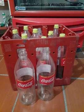 Canasta de envase plástico retornables 2 litros