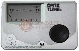 Afinador Qwik Tune Qt-15 Guitarra / Bajo