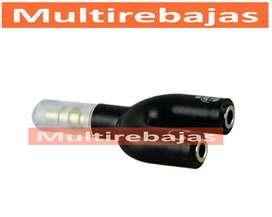 De Audio Divisor  AdaptadorPara Audífono Y Micrófono 3.5mm