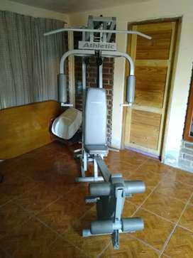 Vendo gimnasio multi funcion completo poco uso