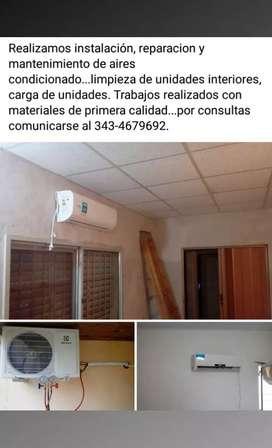 TÉCNICO DE AIRES ACONDICIONADOS