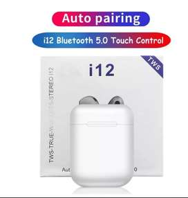 Auriculares Bluetooth I12 Tws Touch