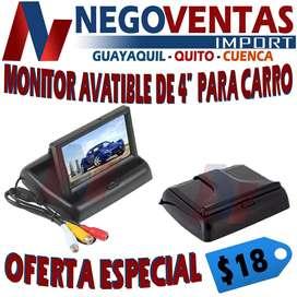 PANTALLA MONITOR DE 4 PULGADAS PARA CARRO