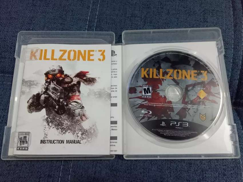 Juego PS3 Killzone 3 Original. Ganga!!!