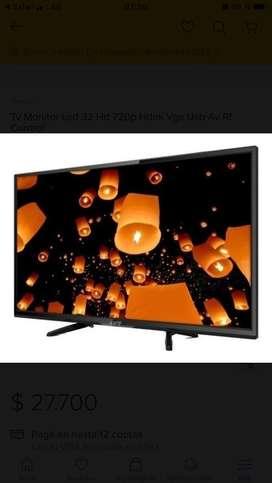 """TV LED 32"""" Kanji HD"""