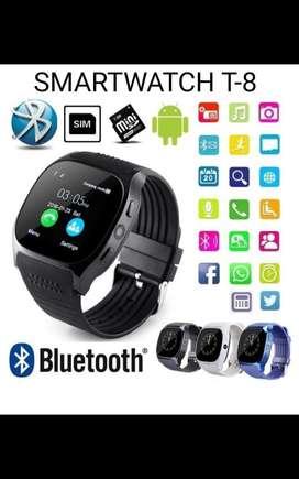 Smartwatch T-8 Chip Sd Camara Bluetooh
