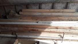 Tirantes de maderas aprox. 2.40