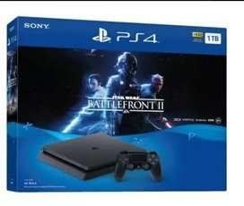 Sony Playstation 4 Slim Star Wars: Battlefront Ii, 1tb ¡NUEVA!