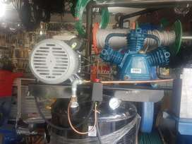 Compresor de 4 Hp con Tanque 80galones