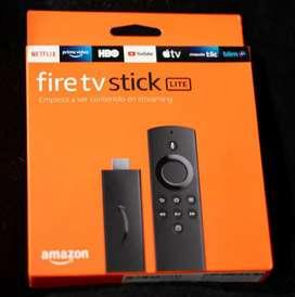 Fire tv stick lite  como nuevo 10 de 10