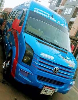 Se vende o permuta aerovan Volkswagen modelo 2009, 5 pistones para 19 pasajeros