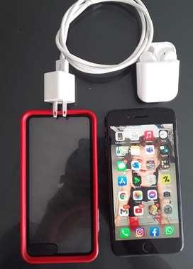 Iphone 8plus 256gb 100%bateria + aipods