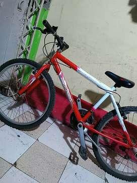 Se vende una bicicleta de segunda