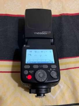 Flash YN686EX-RT + receptor y emisor YN622C-TX