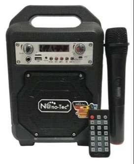 Parlante Amplificador Profesional Nano-tec Nt-p2314   microfono inalambrico
