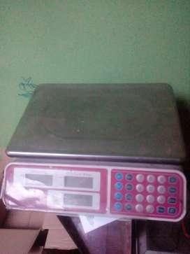 Balanza electrónica de 40 kilos