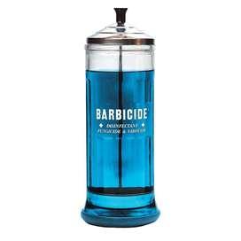 Tarro Barbicide Salón de Peluquería Profesional desinfección, Grande 1 Litro