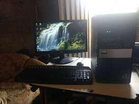 computador de escritorio completo