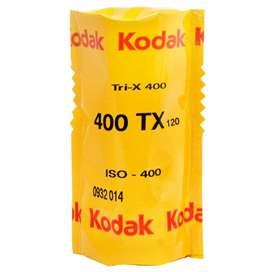 Rollos fotográficos Trix 400 blanco y negro 120