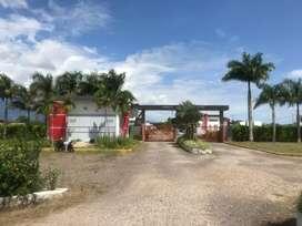 Gangazo vendo lote en condominio campestre  castello 480 mt.