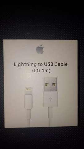Cable De Datos Usb Lighting Original de Apple