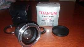 Bower Titanium Super Wide Macro Lens 0,42x Af