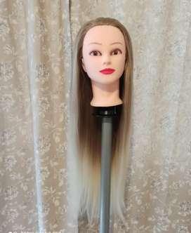 Cabezote para aprender  a realizar peinados o practicar