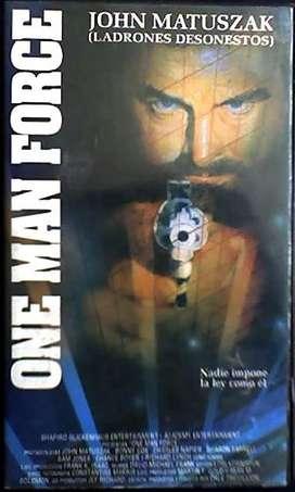 ONE MAN FORCE PELICULA EN VHS AUDIOMAX
