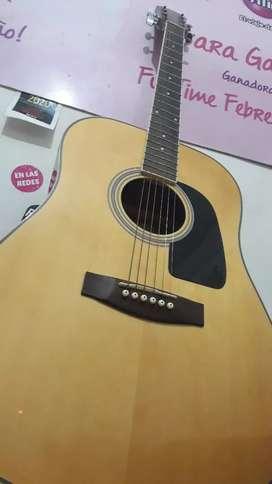 Guitarra Acústica Aria ad18n + estuche || Sin uso || Cuerdas nuevas