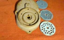 Cabezal de picadora y 3  disco
