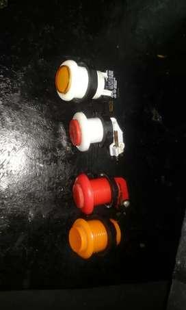 Botones para proyecto arcade (maquinitas)