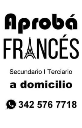 Clases particulares e individuales de francés, exámenes de febrero para secundario
