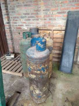 cilindros de gas vacios 4x31kg