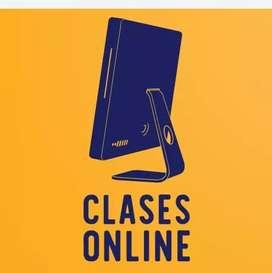 SERVICIO DE CLASES Y ASESORIAS.