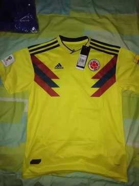 Venta de camisetas de Colombia