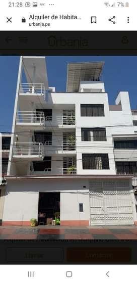 Habitaciones amplias con baño incluido, máximo 2 personas por habitación que trabajen o estudien