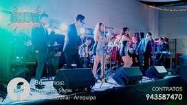 SHOW INTERNACIONAL ORQUESTA - AREQUIPA