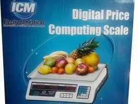 Pesa Bascula Gramera Electrónica Balanza Peso Digital 40 Kg