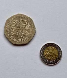 Mexico monedas