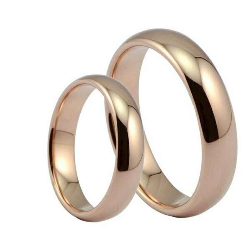 Aros de Matrimonio Oro 18k Y 24k Boda Anillos Mujer Hombre Belleza Amor Regalo Celular Ps4 0