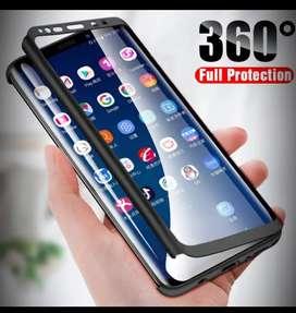 Funda 360 Para Samsung A31 Con Película De Vidrio Protector