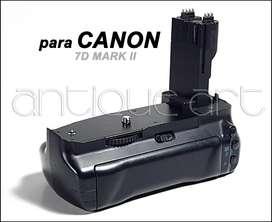 A64 Battery Grip Para Camara Canon 7d Mark Il En Oferta