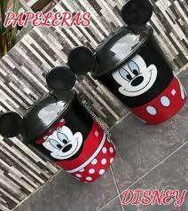 Papeleras Mickey