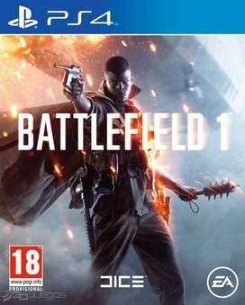 Battlefield 1 Playstation 4 PS4, Físico