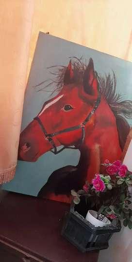 Cuadro de un caballo