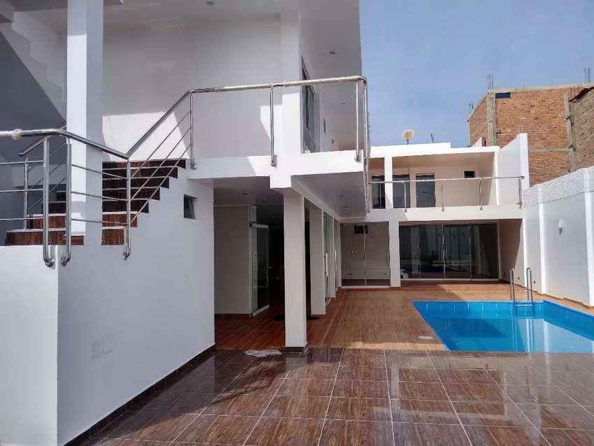 Vendo casa de playa recién construida todos los acabados a estrenar  320m2 trato directo. 0