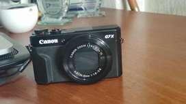 Camara Canon G7x Powershot Mark II